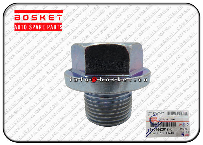 0.09KG Oil Drain Plug for JAPAN ISUZU FVR34 6HK1 9-09662012-0 9096620120 supplier