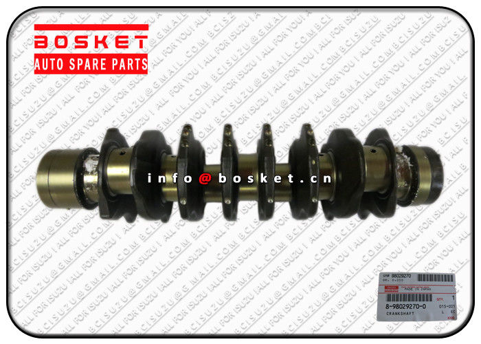 JAPAN ISUZU FRR FSR NPR 4HK1 8-98029270-0 8980292700 Isuzu Spare Parts Crankshaft