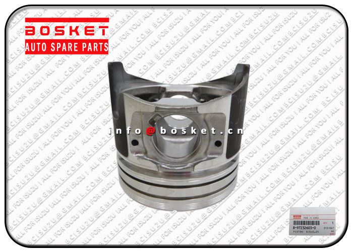 8972326030 8-97232603-0 Isuzu Auto Parts  Oversize Piston Suitable for ISUZU XD supplier