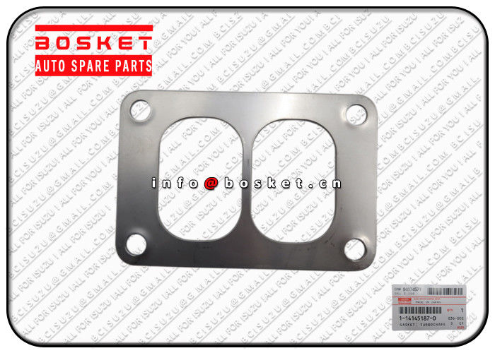 1141451870 1-14145187-0 Isuzu CXZ Parts Turbocharger Gasket Suitable