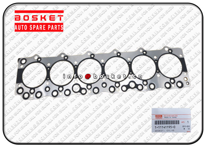 1111411951 1-11141195-1 Cylinder Head Gasket  Suitable for ISUZU FSR113 6BD1 supplier