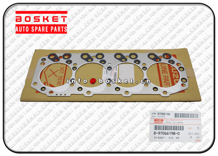 8-97066198-0 8970661980 Isuzu Cylinder Head Gasket Suitable for ISUZU NKR69 4JG2 supplier