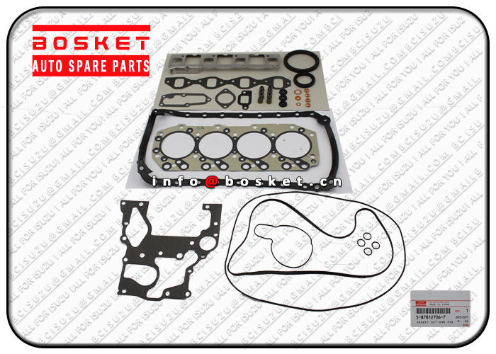 ISUZU NKR55 4JB1 Engine Overhaul Gasket Set 5878127067 5-87812706-7 supplier