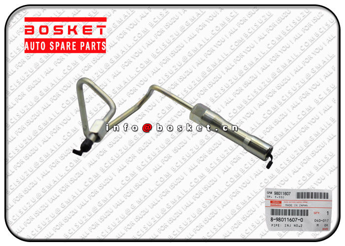 8980116070 8-98011607-0 Injection Number 2 Pipe Suitable for ISUZU