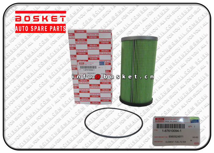 Truck Fuel Filter Element For ISUZU CYZ52 6WG1 1-87610094-0 8-98092481-1 1876100940 8980924811 supplier