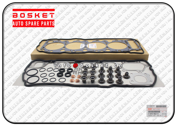 ISUZU NPR Engine Head Overhaul Gasket Set 5878178650 5-87817865-0 5878150081 5-87815008-1 supplier