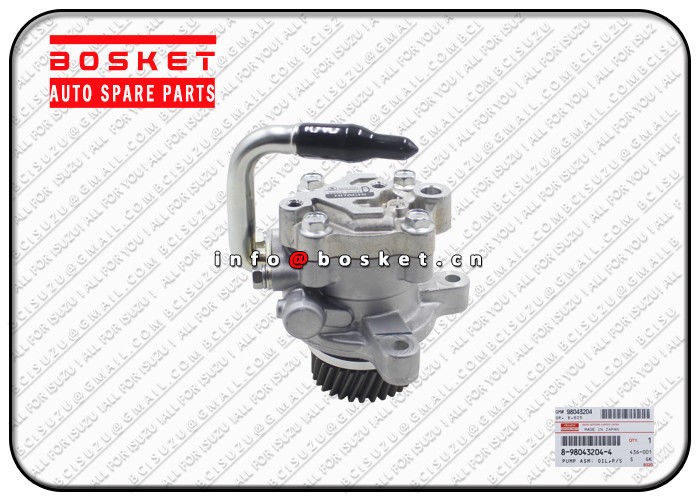 ISUZU NNR Truck Chassis Parts 8-98043204-4 8980432044 Power Steering Oil Pump Assembly supplier