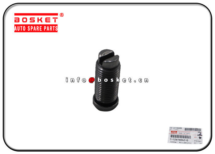 1-12616042-0 1126160420 Isuzu Engine Parts Bridge Adjuster Screw For 6WG1 6RB1 CXZ CYZ supplier