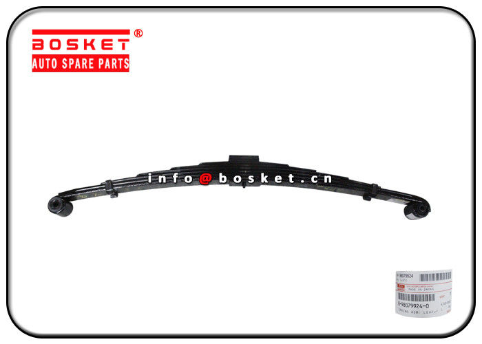 Isuzu 4HK1 NQR75 8-98079924-0 8980799240 Front Leaf Spring Assembly supplier
