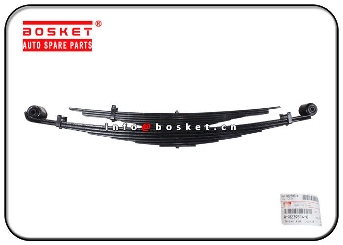 Isuzu 4HK1 NQR75 Truck Chassis Parts 8-98239514-0 8-98079902-0 8982395140 8980799020 Rear Leaf Spring Assembly supplier