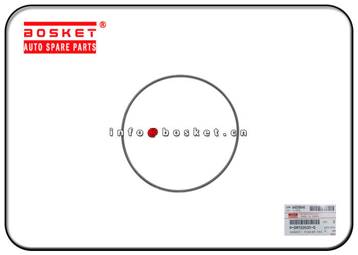 ISUZU NKR NPR Truck Chassis Parts 9-09720505-0 9097205050 Pinion Cage Gasket supplier