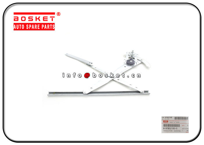 8-97852195-5 8978521955 Rear Door Window Regulator For ISUZU 4JB1 NKR55 supplier
