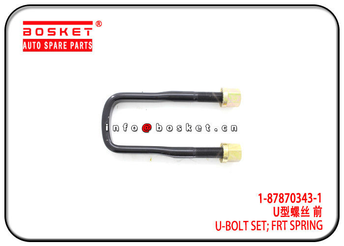 1-87870343-1 1878703431 Front Spring U-Bolt Set Suitable for ISUZU 6WF1 CXZ51K supplier