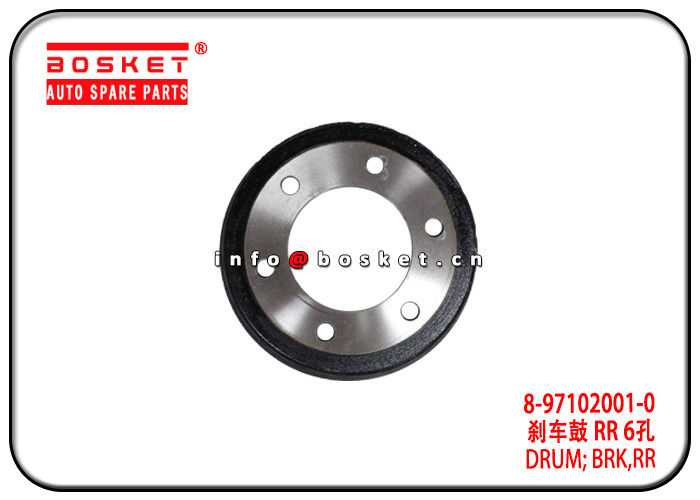 8-97102001-0 8-97319056-0 8971020010 8973190560 Rear Brake Drum Suitable for ISUZU NPR75 700P supplier