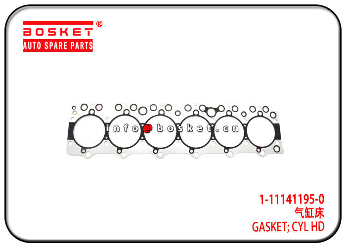 1-11141195-0 1111411950 Cylinder Head Gasket Suitable for ISUZU 6BD1 FRR supplier