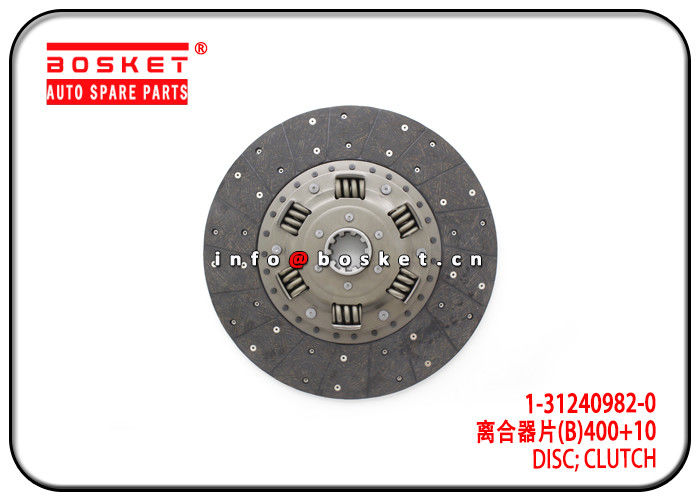 Clutch Disc For ISUZU 6WF1 MJT7S CYZ 1-31240982-0 1-31260039-1 1312409820 1312600391 supplier