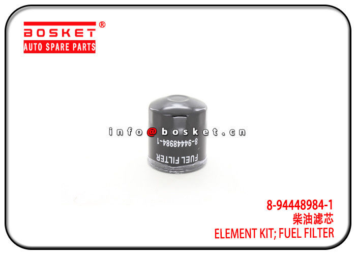 Fuel Filter Element Kit Isuzu D-MAX Parts For 4JA1 TFR  8-94448984-1 8-97916993-2 8944489841 8979169932 supplier