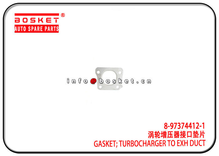 4HK1 Isuzu NPR Parts Turbocharger To Exhaust Duct Gasket 8-97374412-1 8973744121 supplier