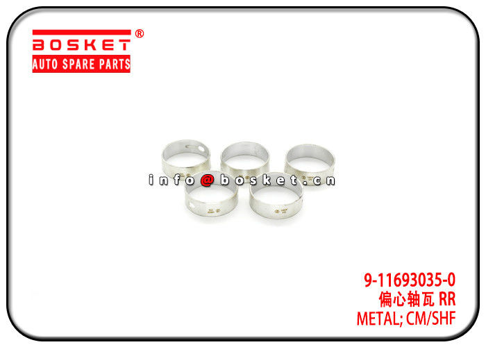 6BD1 FSR11 Isuzu FVR Parts 9-11693035-0 9-11691048-0 9116930350 9116910480 Camshaft Metal supplier