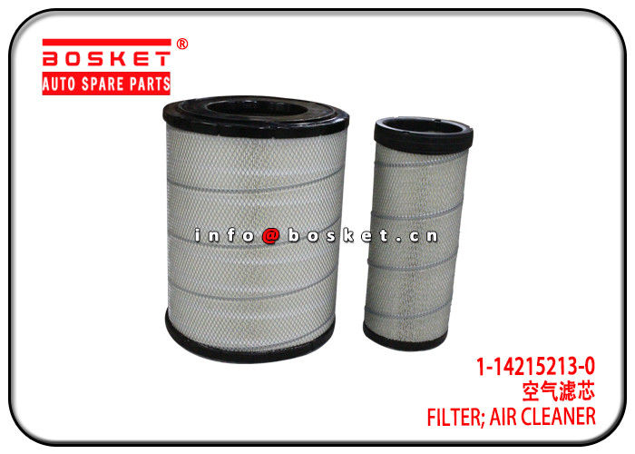Air Cleaner Filter For ISUZU 6WG1 CXZ51 1-14215213-0 1-14215220-0 1-87610166-0 1142152130 1142152200 187610166 supplier