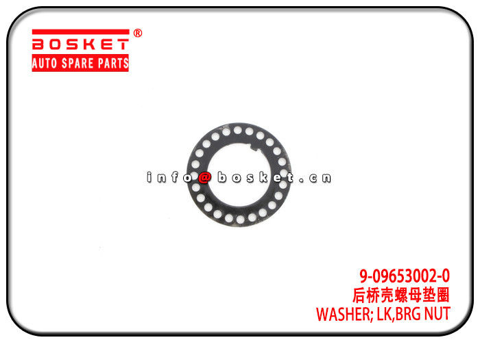 4HK1 NKR NPR 700P Isuzu NPR Parts Bearing Nut Lock Washer 9-09653002-0 9096530020 supplier
