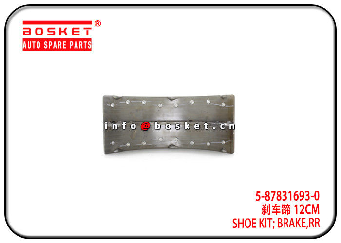 Mexico Market 4HK1-T NPR ELF500 Rear Brake Shoe Kit 5-87831693-0 5878316930 supplier