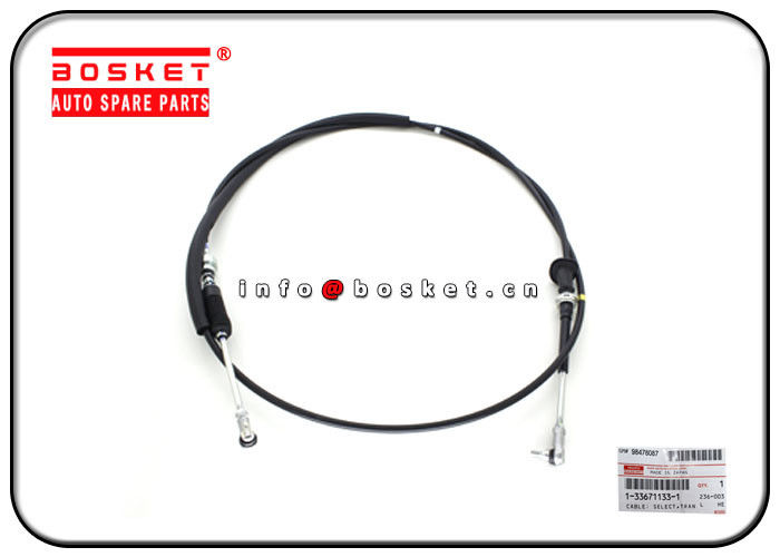 1-33671133-1 1336711331 Clutch System Parts Transmission Control Select Cable For ISUZU 6HH1 FTR33 supplier