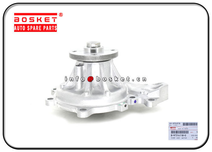 ISUZU 4HE1 NQR70 Water Pump Assembly 8-97314118-0 5-87610093-BVP 8973141180 587610093BVP supplier