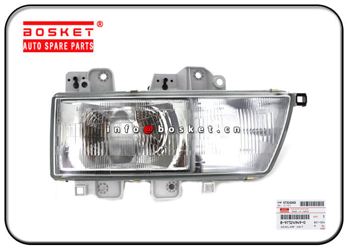 ISUZU NKR 8-97324949-0 8973249490 Headlamp Unit supplier