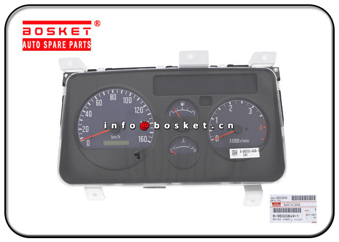 NPR Isuzu Body Parts 8-98000849-1 8980008491 Clustep Meter Compl supplier