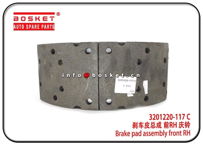 ISUZU FVR34 3201220-117 C 1-47120616-0 3201220117C 1471206160 Brake Pad Assembly Front Right Hand supplier