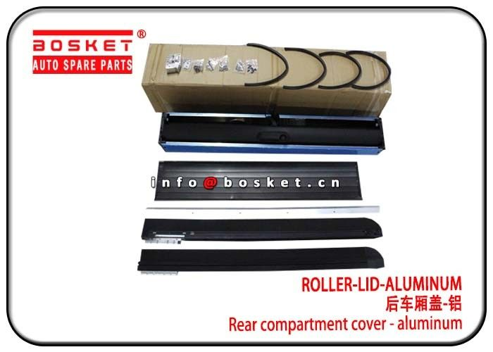 Durable Isuzu D-MAX Parts2013-2020 Aluminum Roller Lid Rear Compartment Cover supplier