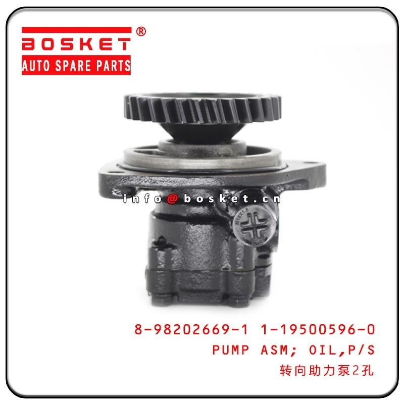 ISUZU 6HE1 LT Truck Chassis Parts Power Steering Oil Pump Assembly 8-98202669-1 1-19500596-0 8982026691 1195005960 supplier