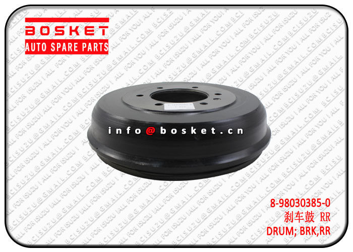 ISUZU D-MAX Rear Brake Drum 44 8980303850 8-98030385-0 High Performance supplier