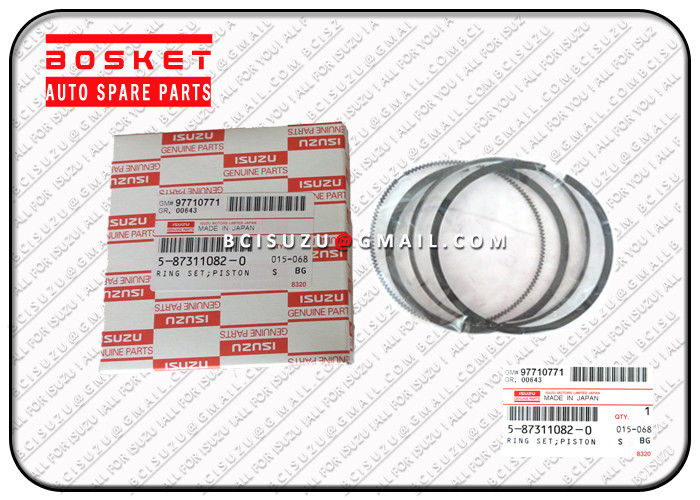 5873110820 Isuzu lorry Parts For Nkr55 4jb1 4ja1 Piston Ring Replacement supplier