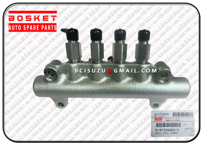 8973060633 8-97306063-3 Isuzu 4HK1 Rail ASM Common 8973060634 8-97306063-4