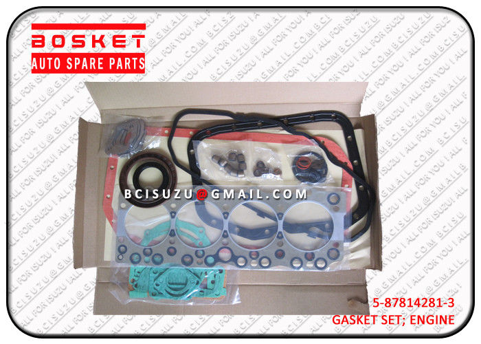 4BG1 Isuzu Cylinder Gasket Set 5878142813 5-87814281-3 , Net Weight 1.55kg supplier