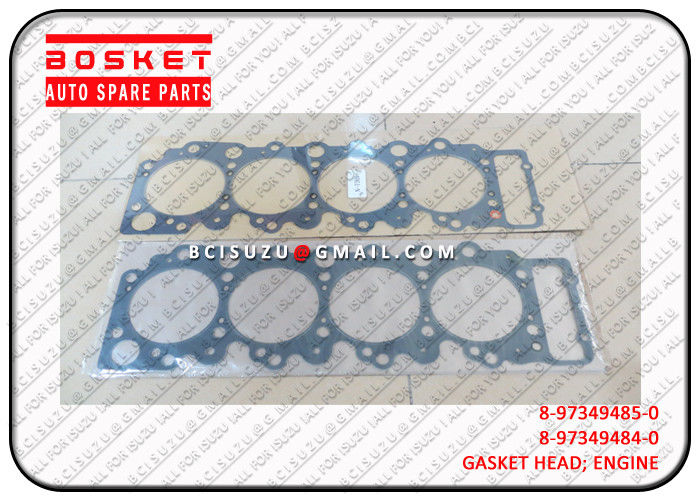 Nqr66 4HF1 Isuzu Cylinder Gasket Set 8973494850 8-97349485-0 , Engine Spare Parts supplier