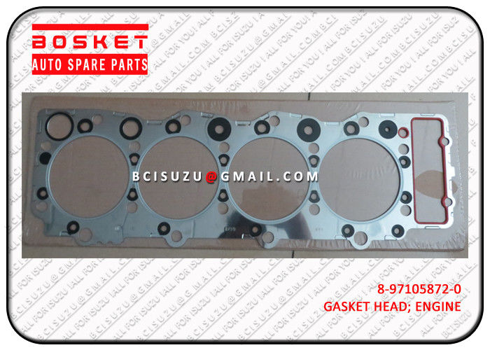 Steel Isuzu Cylinder Gasket Set Npr66 4HF1 8971058720 8-97105872-0 supplier