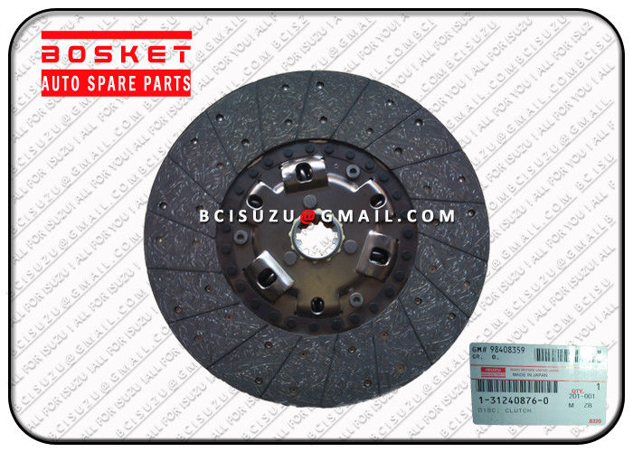 1-31240876-0 Isuzu Clutch Friction Disc / Plate For Cxz51k 6WF1 , Isuzu Car Parts supplier