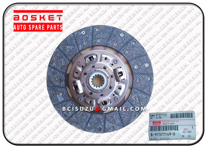 Nkr77 4JH1T Nkr66 4HF1 Isuzu Truck Clutch Disc Parts OEM 8973771490 8-97377149-0 supplier