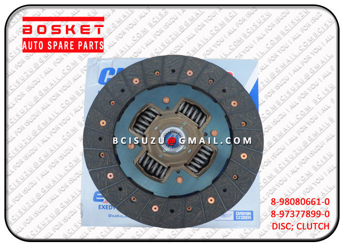 8-98080661-0 Vehicle Isuzu Clutch Disc For Nkr55 4JB1T 4JG2 4KH1 8980806610 supplier
