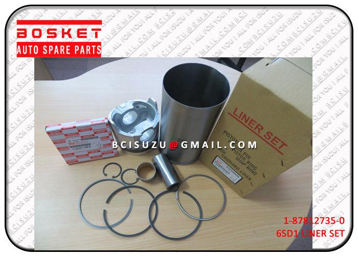 1-87812735-1 Isuzu Liner Set For 6SD1 1878127351 , Auto