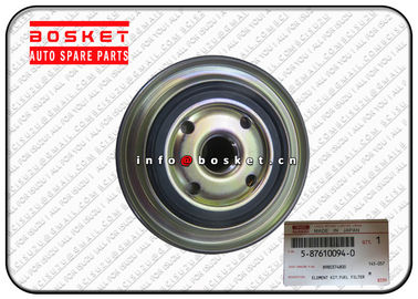 NKR77 4JH1 Fuel Filter Element Kit Isuzu Replacement Parts 5-87610094-0 8-98037480-0 5876100940 8980374800