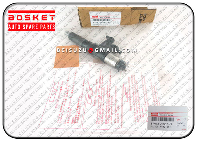 Denso 095000-8903 Isuzu Injector Nozzle Assembly 8-98151837-3 For 4HK1 6HK1 Engine