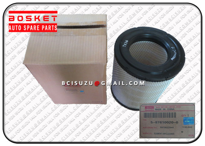 Npr75 4HK1 4JJ1 Isuzu Engine Air Filters 8970622940 8-97062294-0 , Air Cleaner Filter
