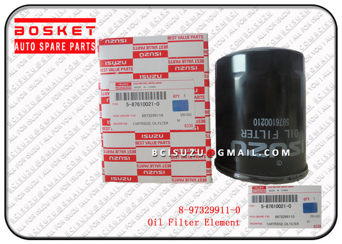 Nkr77 4jh1 4kh1 Isuzu Filters Industrial Fuel Oil Filter Element 8973299110 8-97329911-0