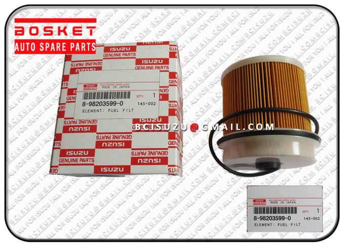 Nlr85 4jj1t Truck Spare Parts Isuzu Filters Fuel Filter Element 8980370110 8-98037011-0