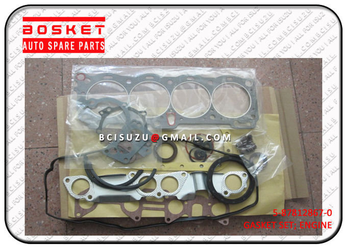 5-87812867-0 Isuzu Cylinder Head Gasket Set For TFR17 4ZE1 5878128670
