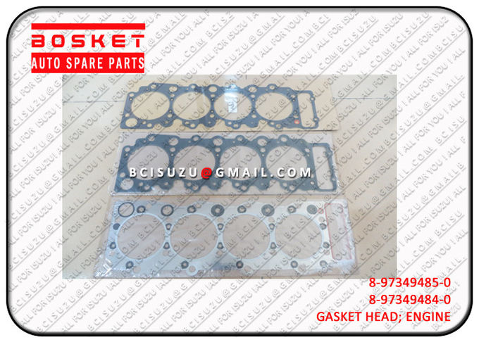 Nqr66 4HF1 Isuzu Cylinder Gasket Set 8973494850 8-97349485-0 , Engine Spare Parts